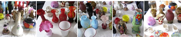Antiques - Art Glass - Jewelry - Perfume Bottles