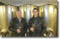 Winemakers Jarek and Jarda Slichta