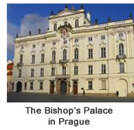 Bishops' Palace in Prague