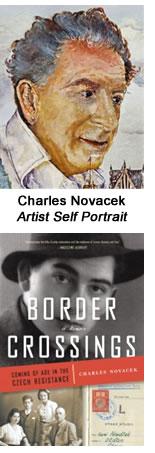 Charles Novacek, Artist Self Portrait